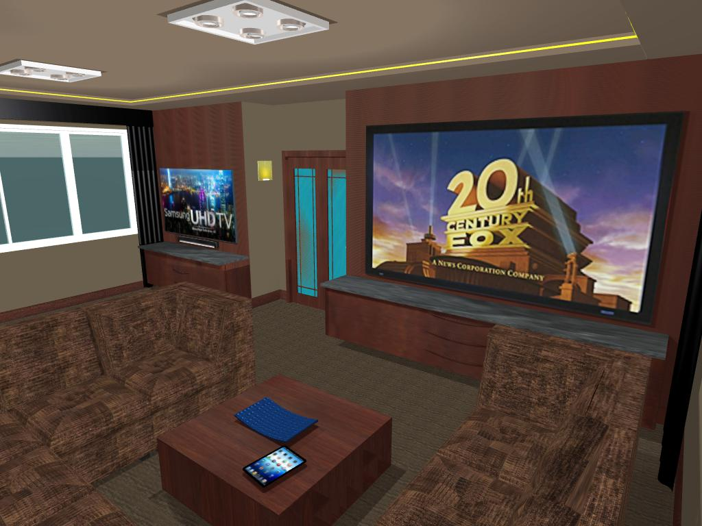 Theater Design Northwest 3d virtual audio video installation design services