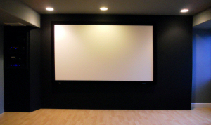 Custom THX home theater by Theater Design Northwest