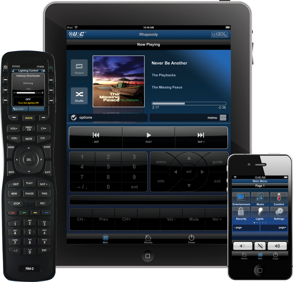 Remote controls and home automation in bellingham and for Total home control
