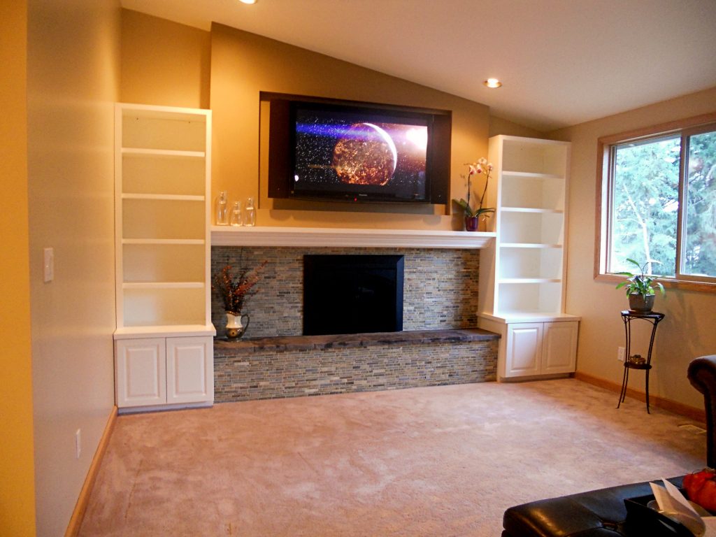 Everett, WA Custom 5.1 Plasma/Surround Sound Installation