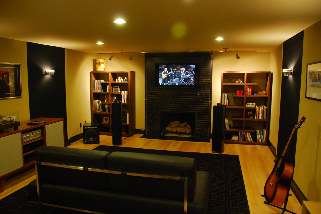 home theater acoustic design. A  Acoustic Design Noise Control In Bellingham and Seattle