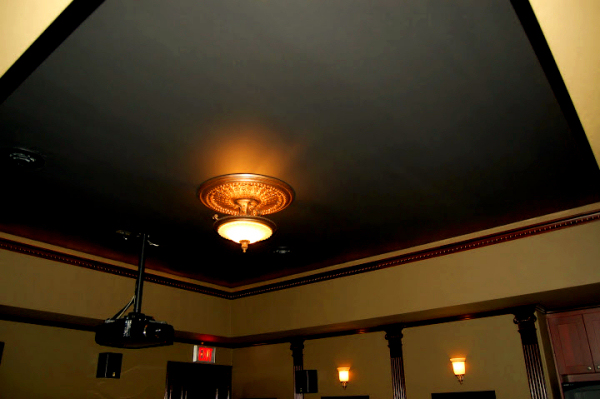 Custom lighting features by TDNW and Lutron