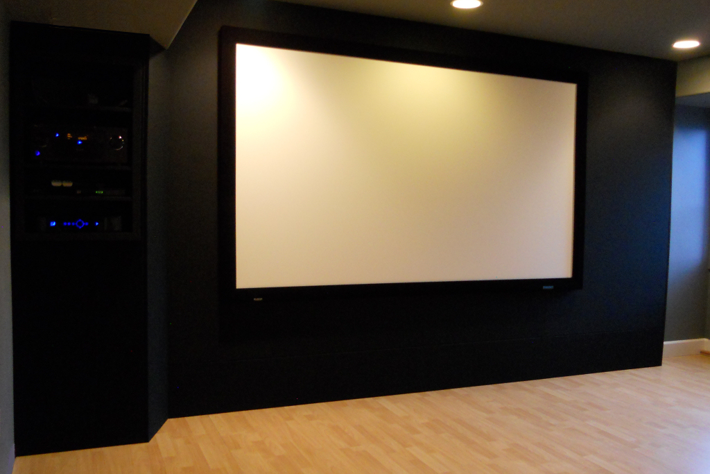 Seattle Custom Home Theater Installation