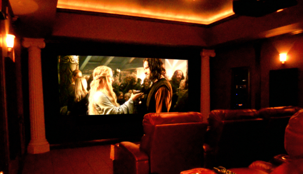 Home theater design in bellingham and seattle theater - Thx home cinema ...
