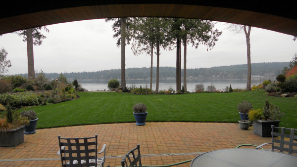 The most relaxing yard ever at Bainbridge Island