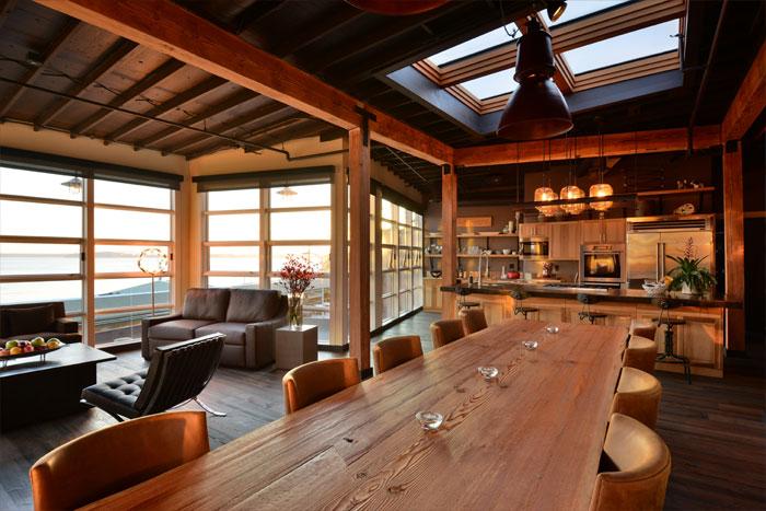 beecher's loft dining