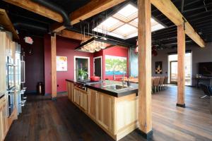 beecher's loft kitchen small