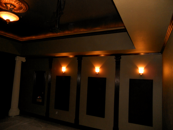 A 9.1 Home theater Design with Acoustic Treatment and 3D capability