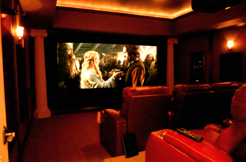 THX Home Theater featuring ISF video calibration