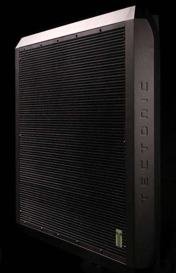 Flat panel commercial loudspeakers.
