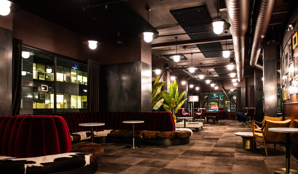 Gold Dust Room Commercial Audio Video Design and Installation Seattle