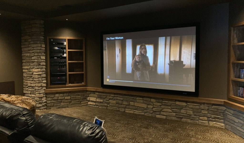 A high end home theater design and installation